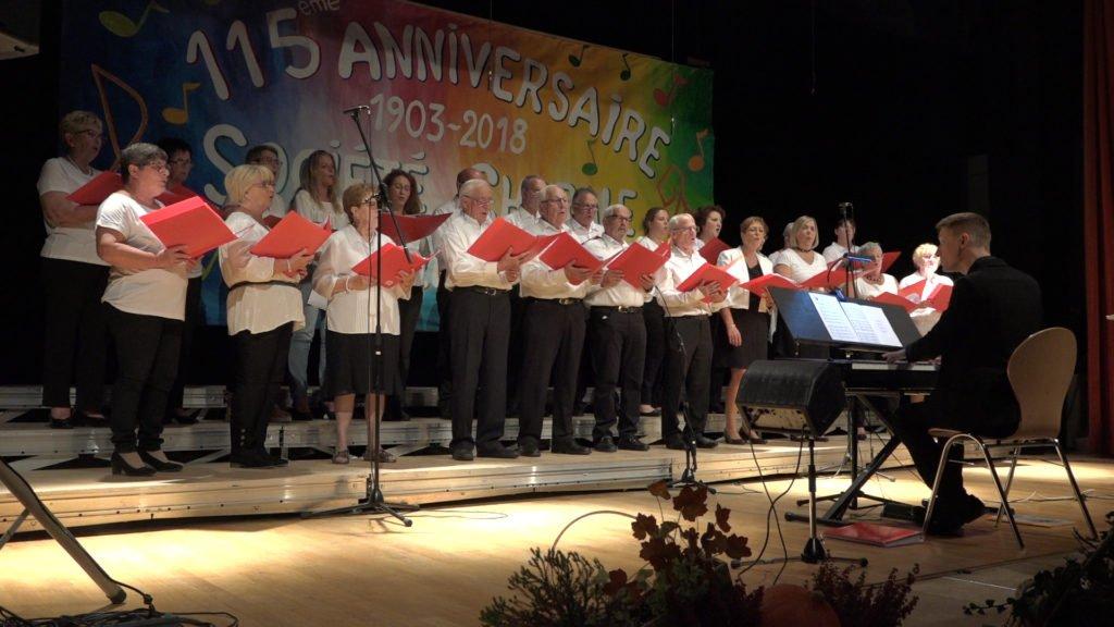 115 ans chorale Grosbliederstroff