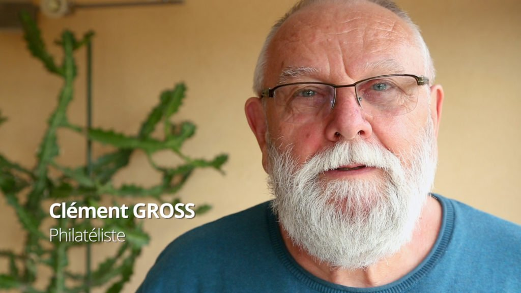 Clément Gross, timbré de philathélie