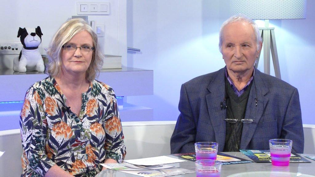 """Véronique Freyermuth, Responsable du collectif """"Stop-linky Rouhling et 57"""" ET Joseph Muller, membre du collectif vous en parlent."""
