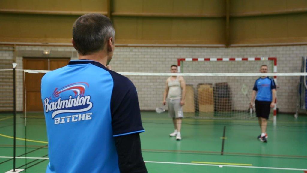Thierry Préaudat et le plaisir du badminton