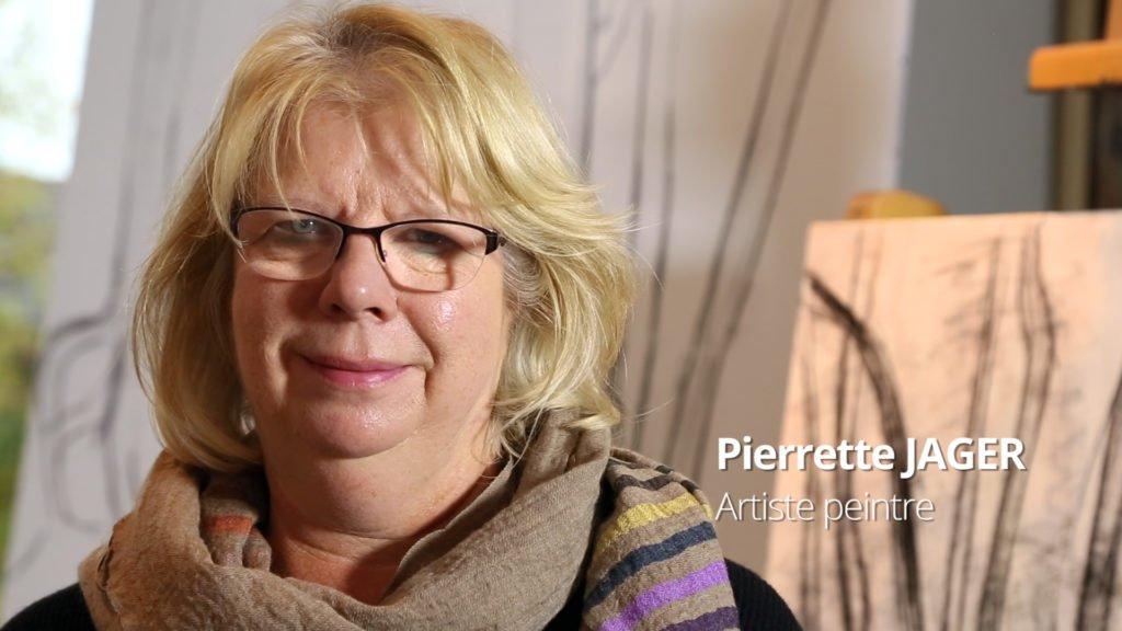 Pierrette Jager, artiste peintre