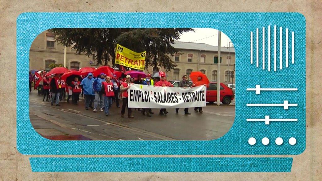 Manifestation contre la réforme des retraites le 6 novembre 2010