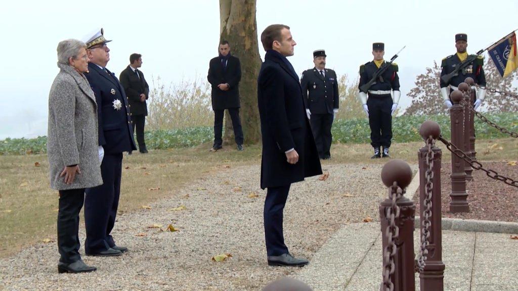Emmanuel Macron à Morhange