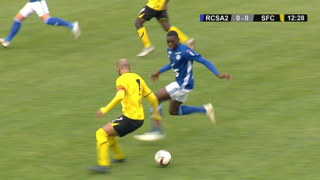 Résumé du match RC Strasbourg 2 - Sarreguemines FC