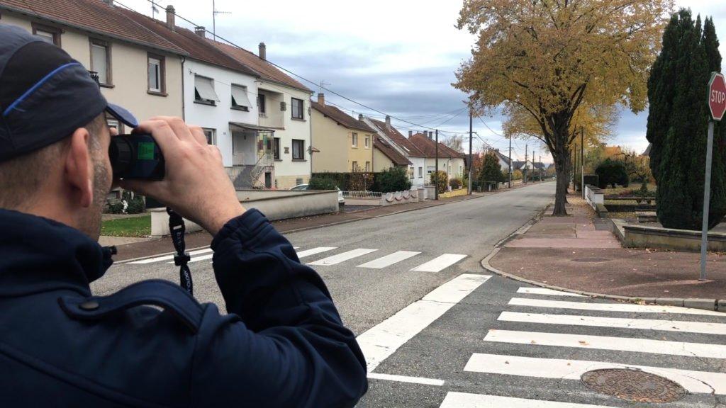 La police municipale de Sarreguemines s'est dotée d'un nouvel outil : un radar mobile