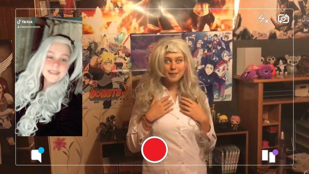Diane adore les Mangas et faire du cosplay