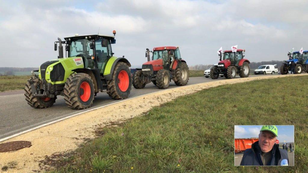 Les agriculteurs en colère se mobilisent