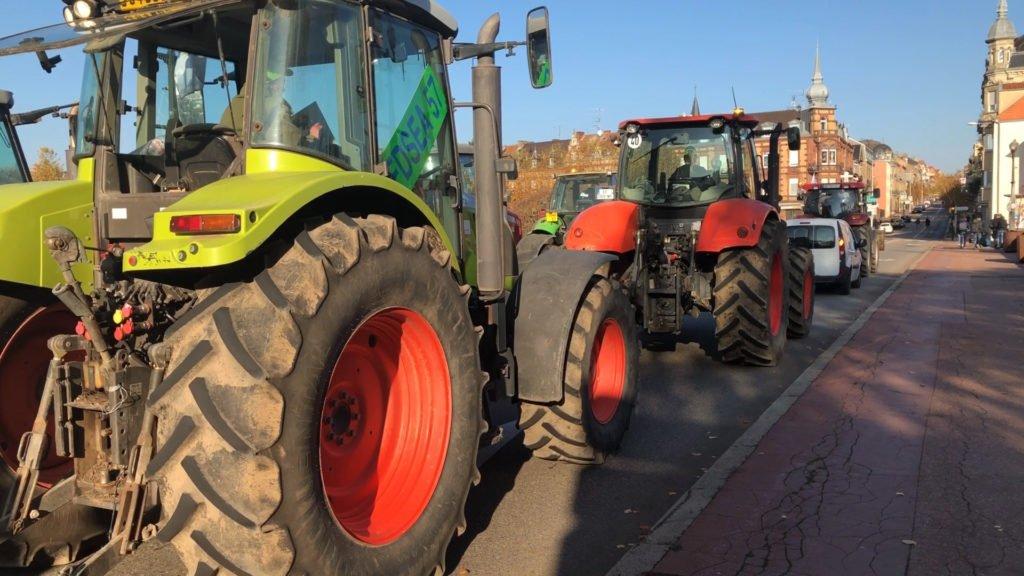 Une trentaine d'agriculteurs de la FDSEA ont manifesté vendredi dernier