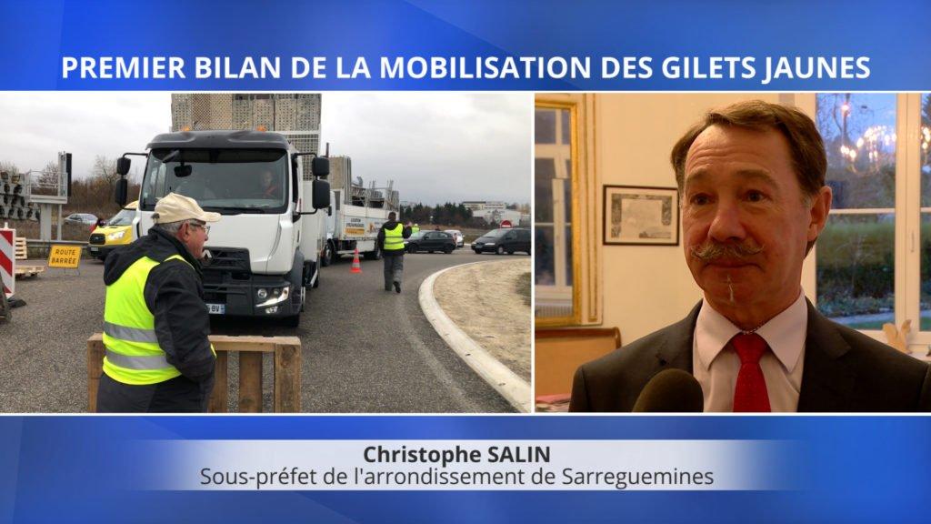 Le sous-préfet de l'arrondissement de Sarreguemines fait un premier bilan