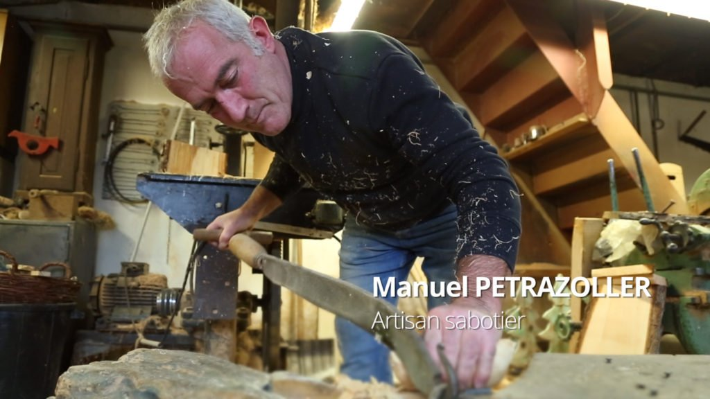Manuel Petrazoller ou l'histoire d'un sabotier