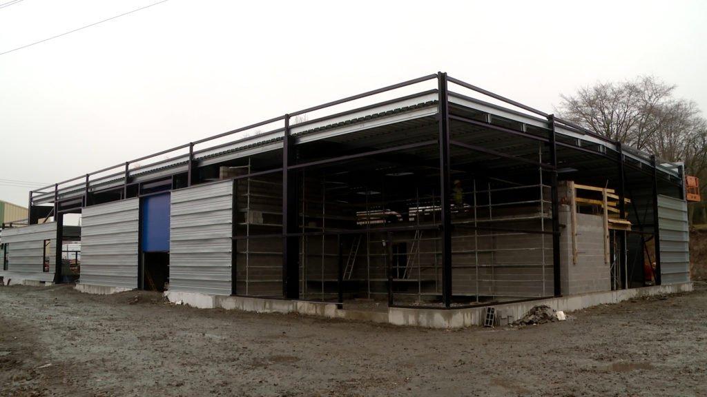 Bientôt 1 300 m² d'ateliers municipaux à Puttelange-aux-Lacs