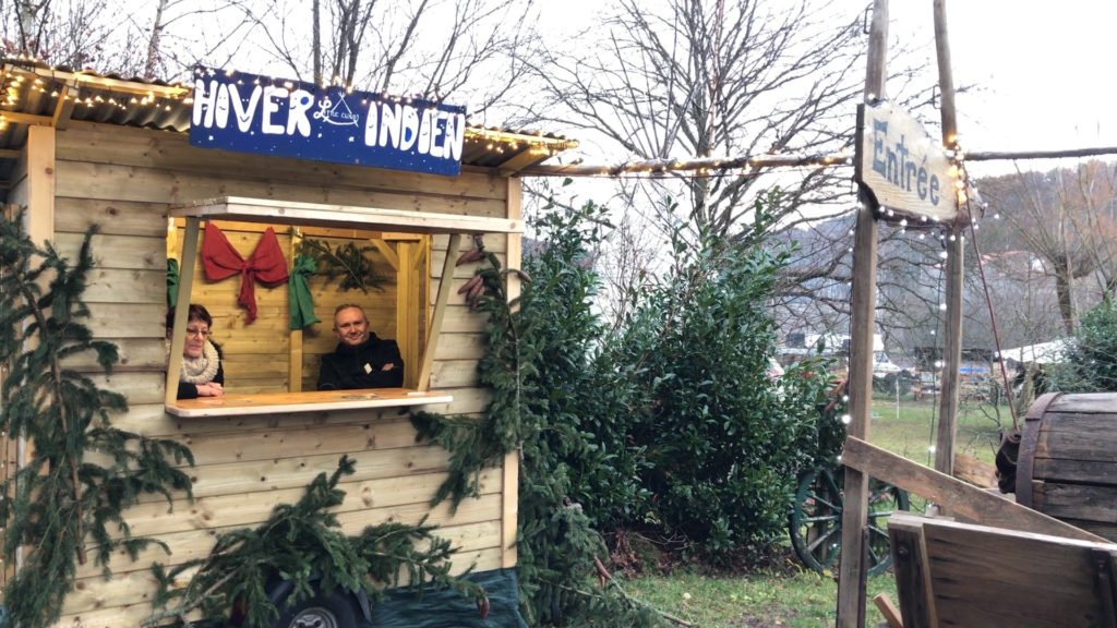 Un vent de Noël a soufflé sur l'arrondissement.