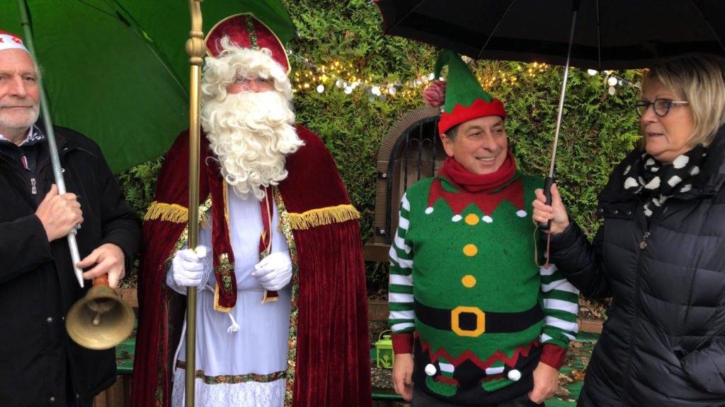 Saint-Nicolas était le héros du week-end ! Le Père Noël a quant à lui pris un peu d'avance…