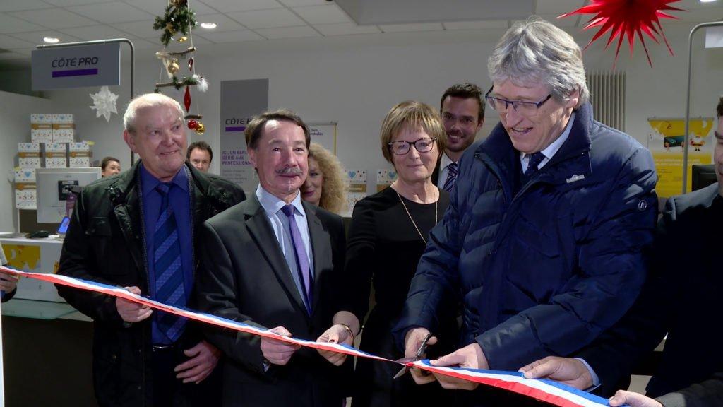 La Poste a inauguré ses nouveaux locaux sarregueminois