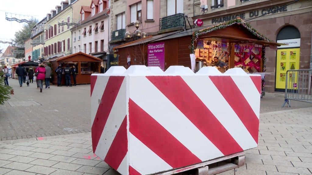 Marché de Noël de Sarreguemines, renforcer la sécurité et la vigilance