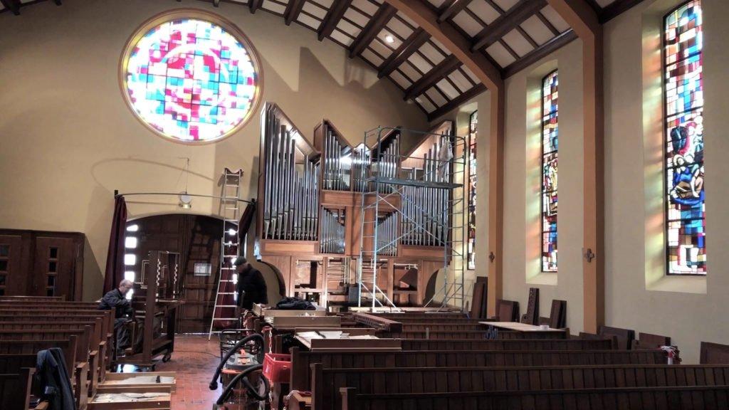 L'église de Frauenberg se dote d'un orgue