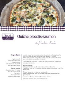 La recette de Pauline Krebs