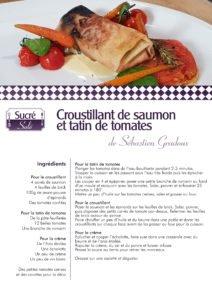 La recette de Sébastien Gradoux