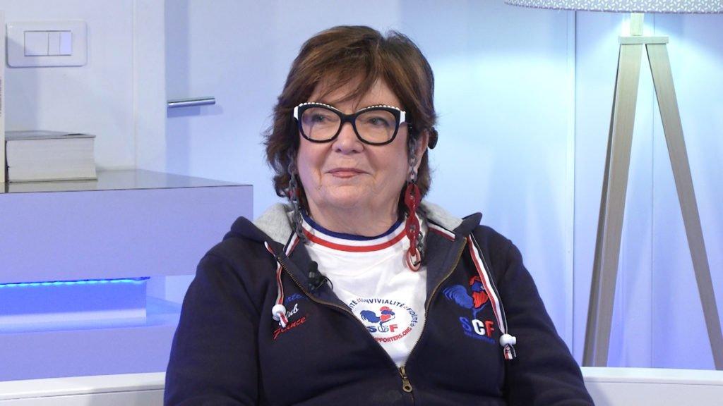 Marlyse ZIEGLER, membre d'honneur du Supporters Club de France est notre invitée