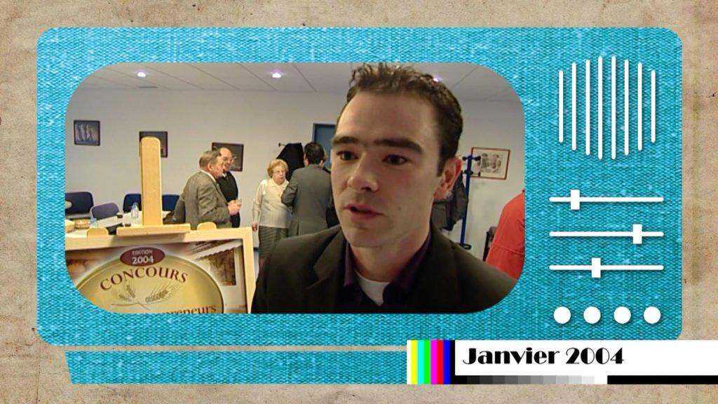 Sorti des archives : En janvier 2004 Jérôme Schwalbach a reçu sa première récompense