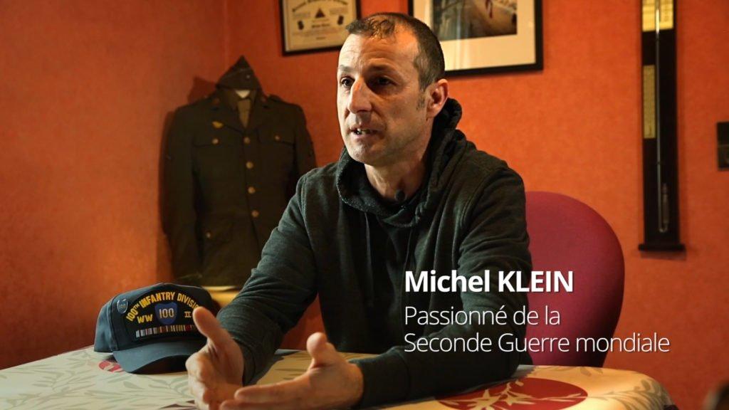 Michel Klein, passionné de la Seconde Guerre mondiale