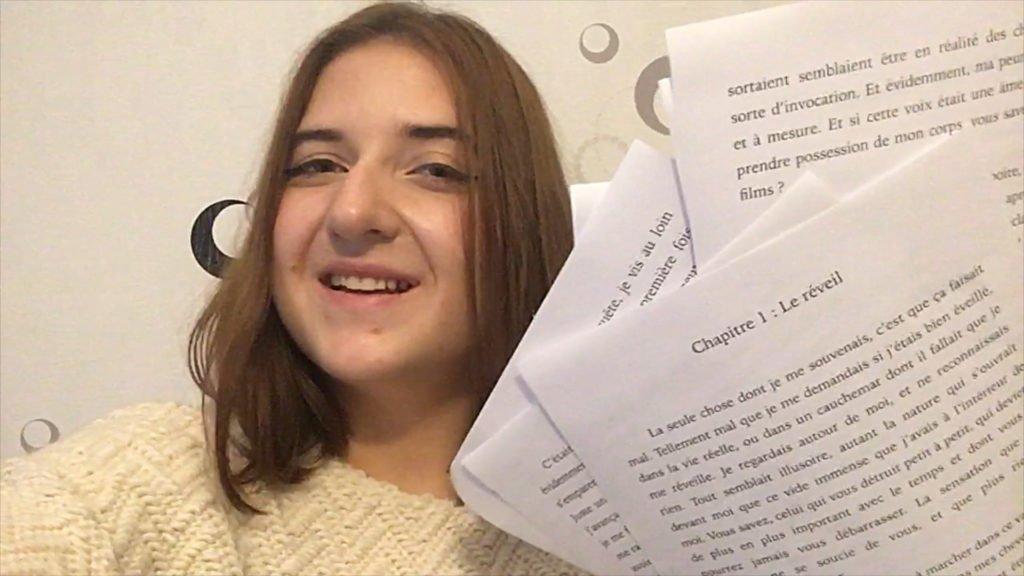 Claire aime l'écriture