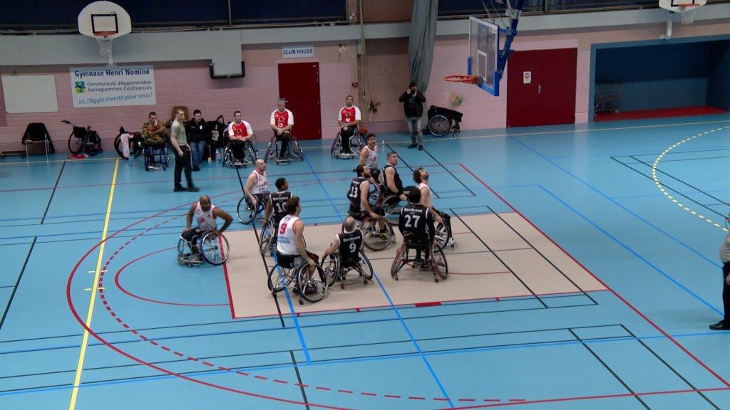 Du basket fauteuil à Sarreguemines !