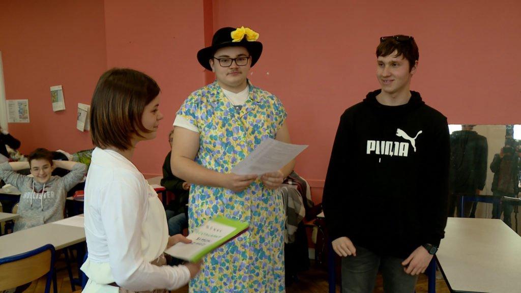 Des élèves du lycée Simon Lazard relèvent le défi du théâtre en platt !