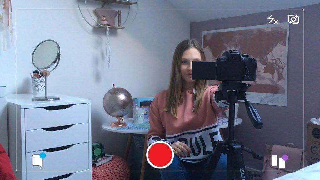 Lizea, jeune youtubeuse aux grands rêves