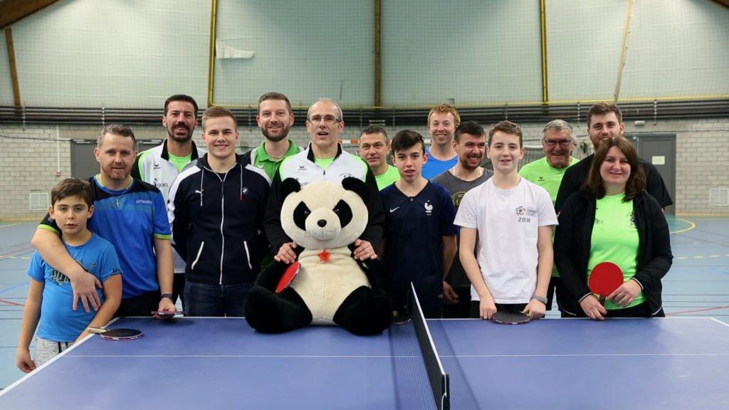 Ping Pong chez les pandas de Bining