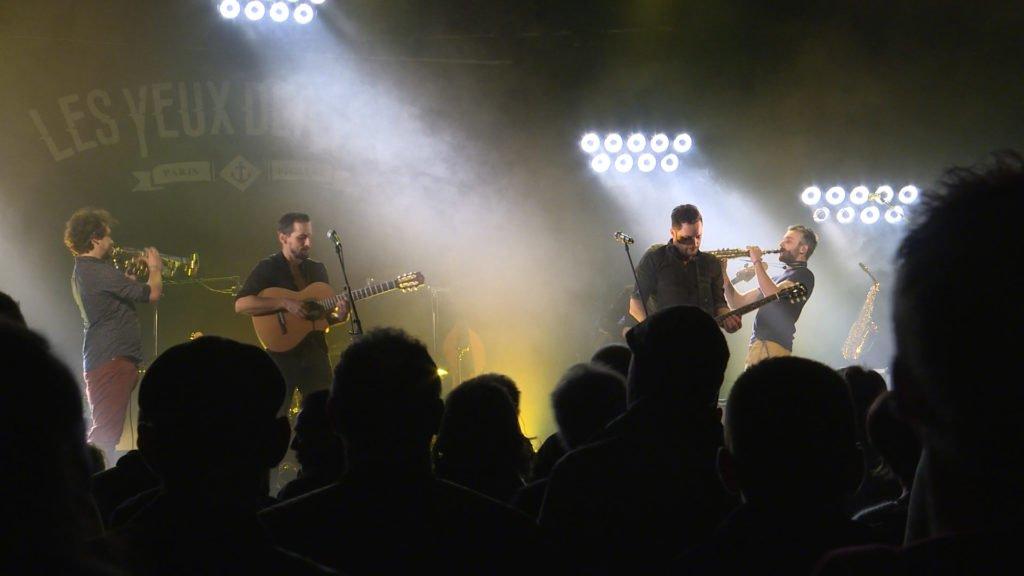 Les Yeux d'la tête en concert