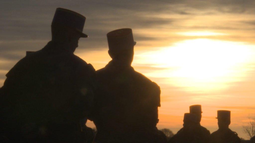 Des militaires bretons au fort de Rohrbach
