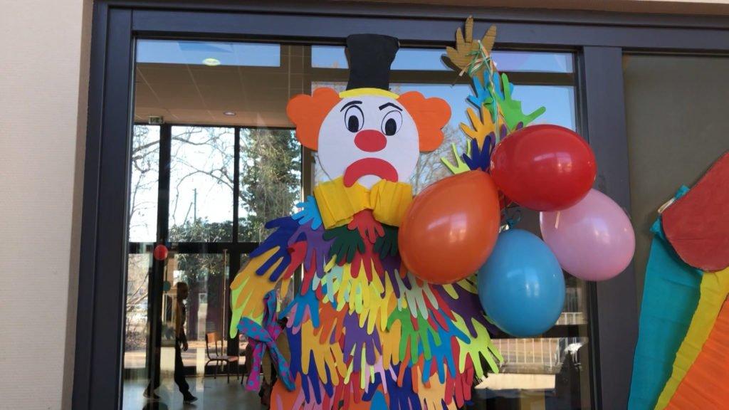 Le centre aéré s'ambiance sur le thème du cirque