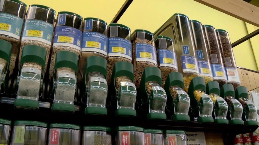 Pour réduire la production de plastique, pensez à acheter vos produits en vrac