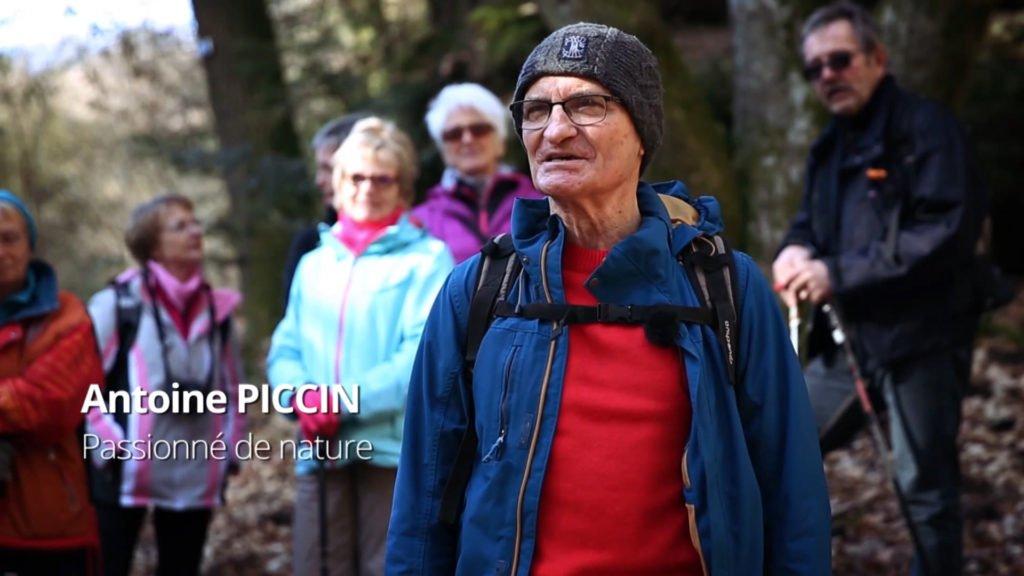Antoine Piccin, amoureux de la nature