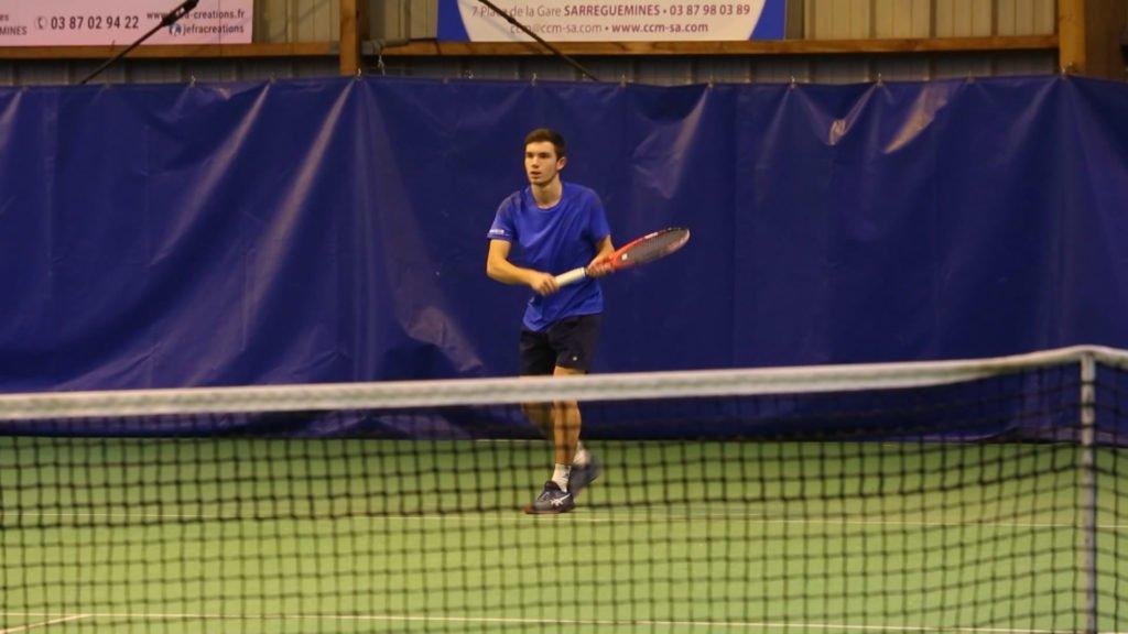 Retour sur la finale du tournoi Open Hiver de l'A.S.Sarreguemines Tennis