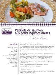 La recette d'Antoine Lacroix