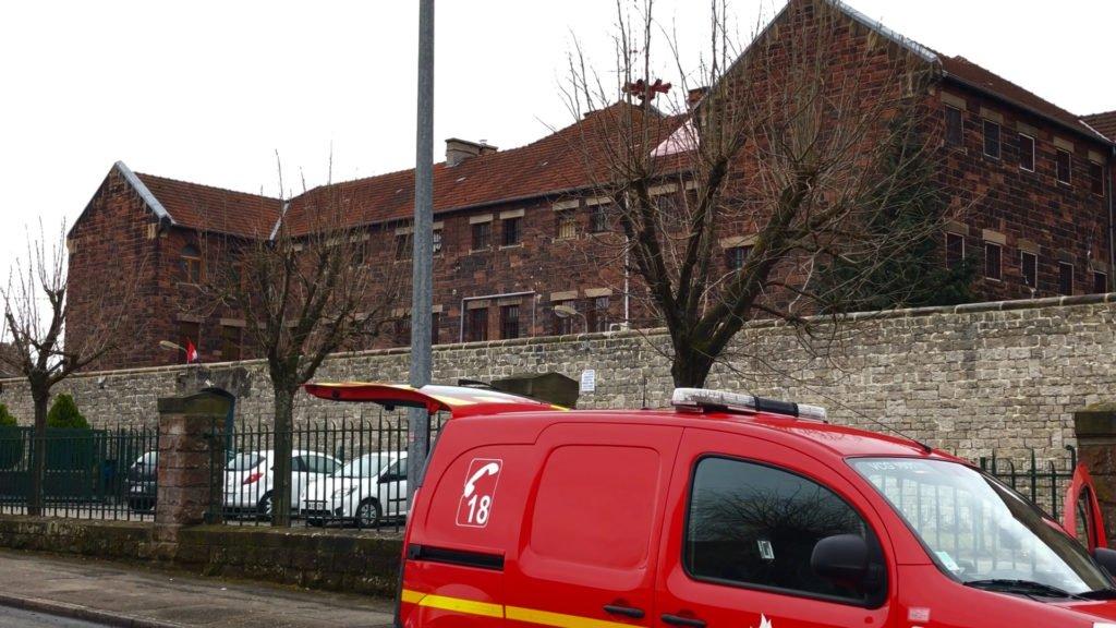 incendie à la maison d'arrêt de Sarreguemines