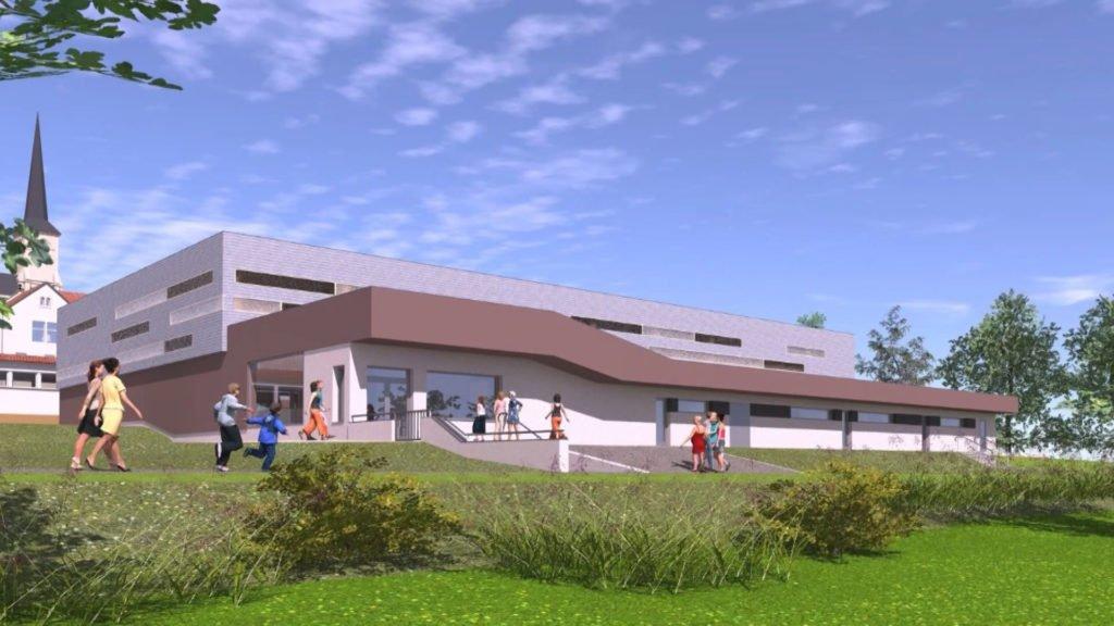 Une salle des sports en projet à Holving