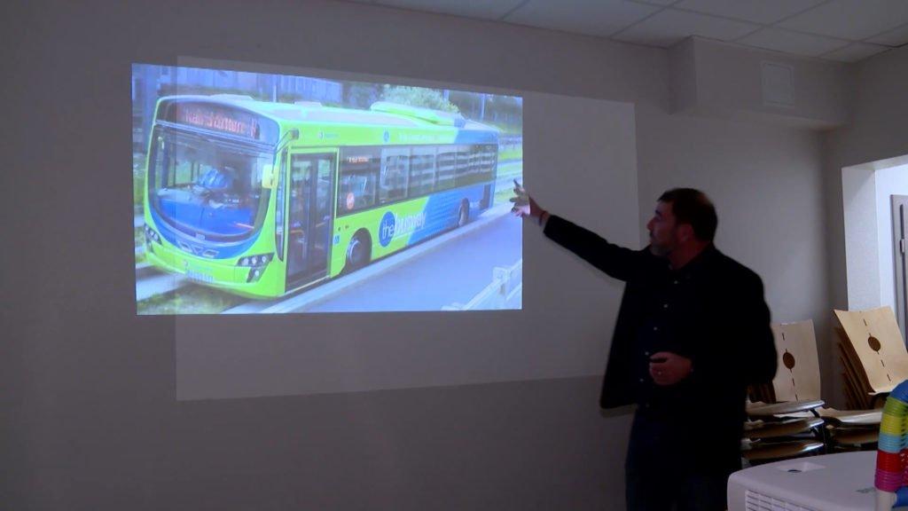 Projet de bus rapide entre Sarreguemines et Bitche.