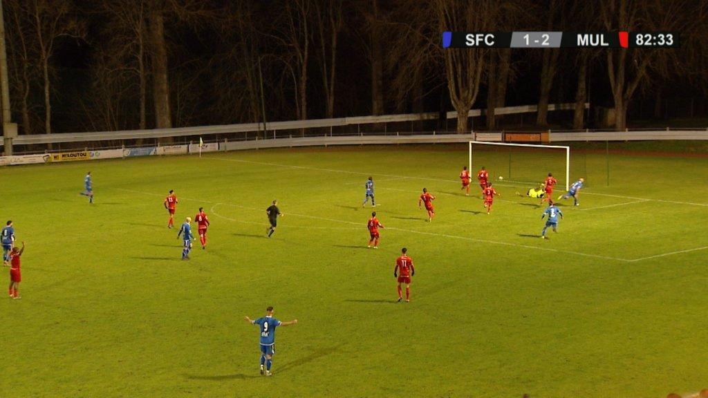 SFC contre FC Mulhouse : match nul