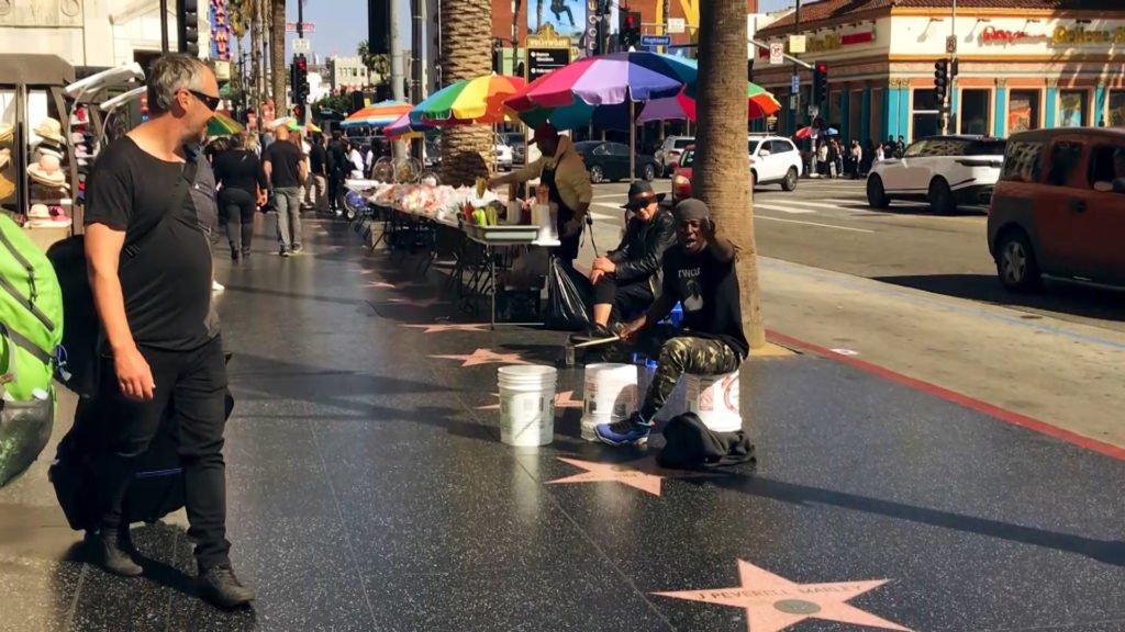 Micro-trottoir à Hollywood