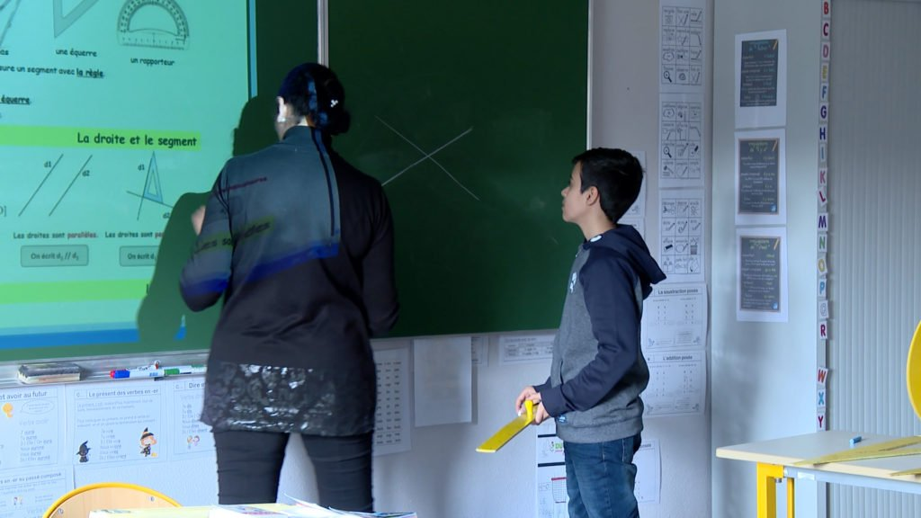 Cours pour élèves allophones