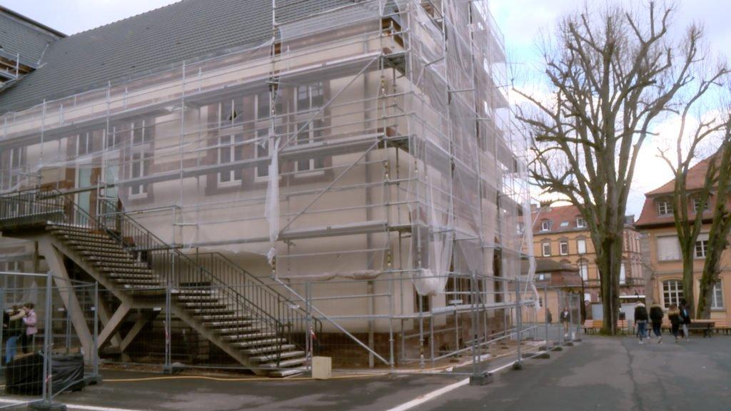 Le lycée Jean de Pange réaménagé