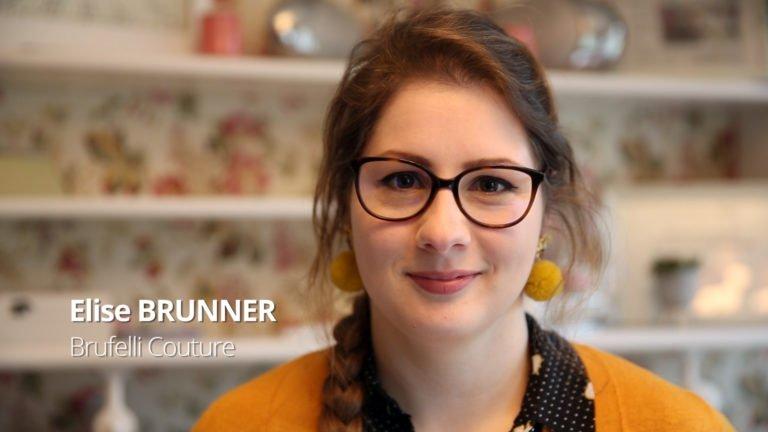 Elise Brunner, passionnément couture