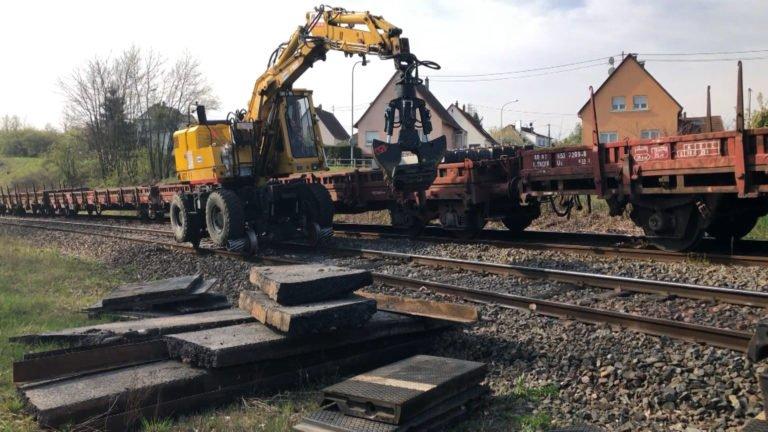 Rénovation de la voie ferrée entre Sarreguemines et Strasbourg