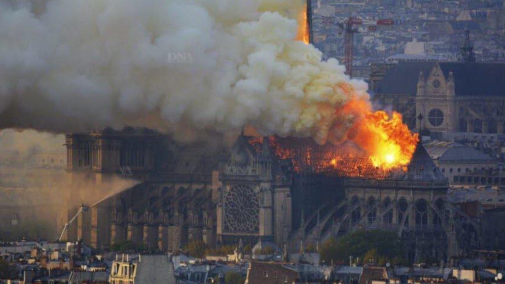 Incendie de Notre Dame