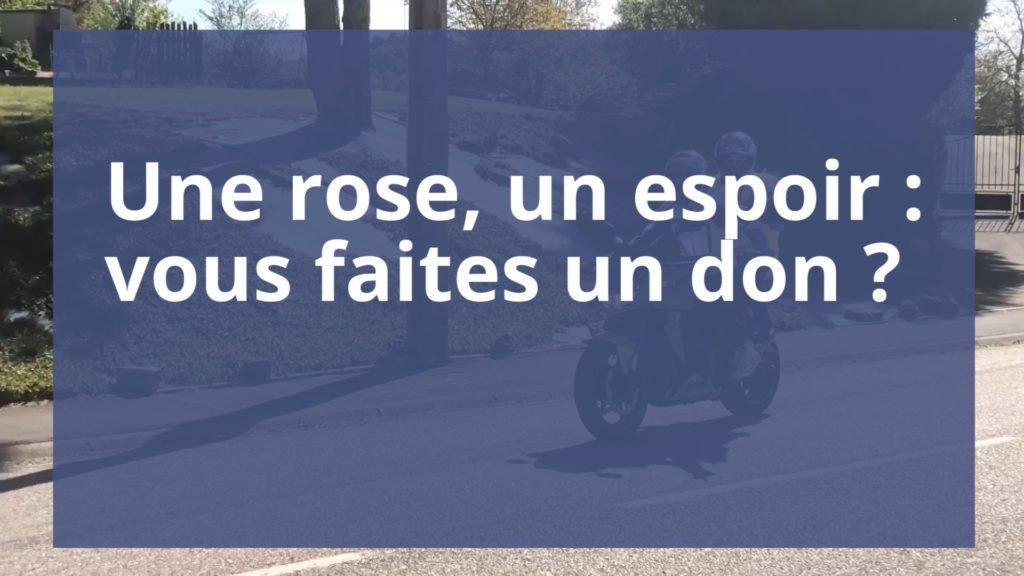 Vous participez à l'opération Une rose, un espoir ?
