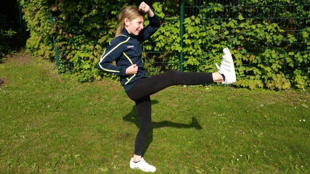 Le kiff d'Eva, c'est le taekwondo