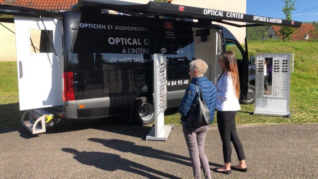 Votre opticien-audioprothésiste sur quatre roues